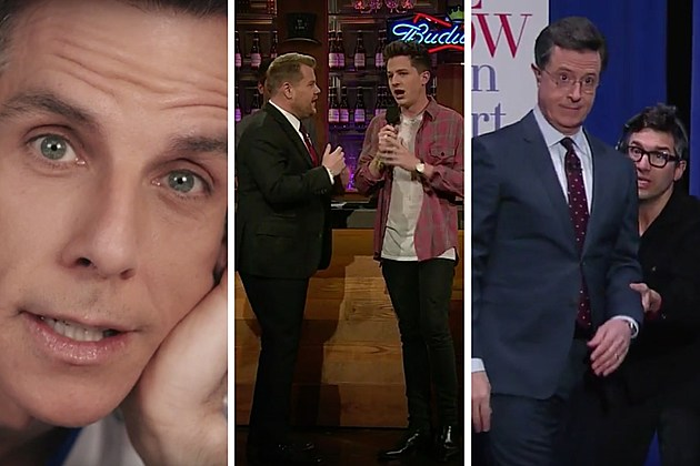 YouTube via The Tonight Show starring Jimmy Fallon, The Late Late Show with James Corden & The Late Show with Stephen Colbert