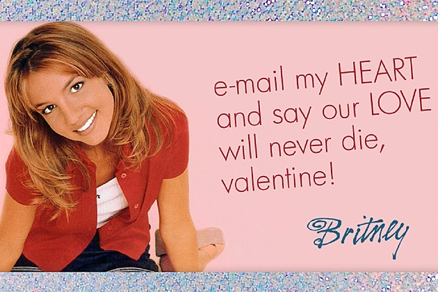 Britney Spears Shares Valentines Day ECards on Tumblr – E Valentine Cards