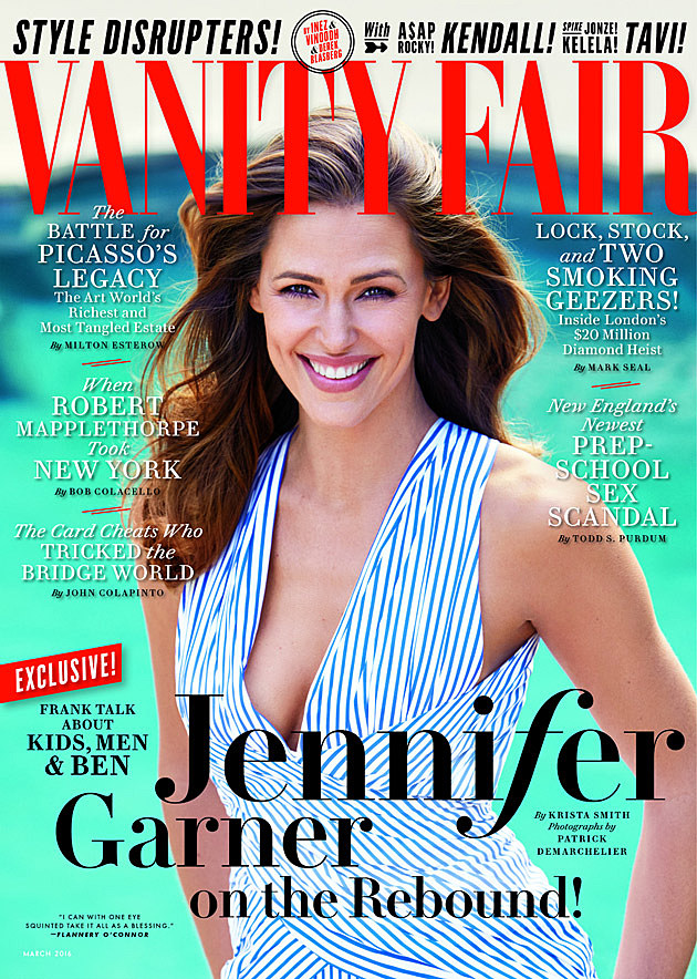 Jennifer Garner Vanity Fair Full Cover