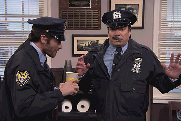 Jimmy Fallon - Point Pleasant Police Department with Bill ...