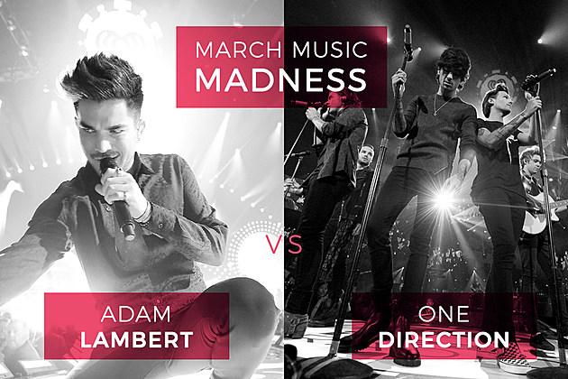 Adam Lambert vs. One Direction