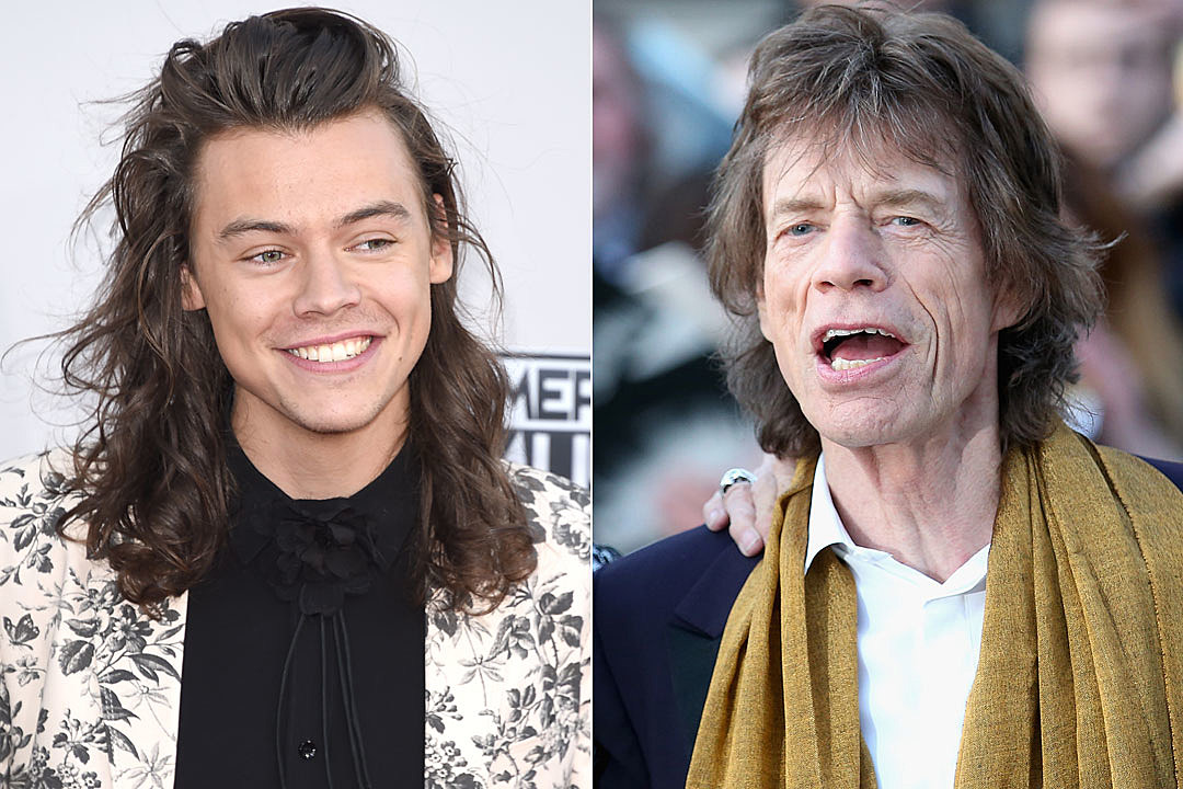 Young Mick Jagger Harry Styles Harry Styles Mick Jagg...