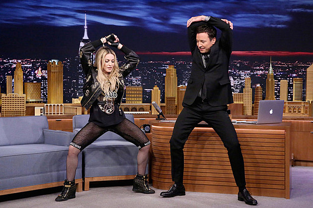 Madonna Jimmy Fallon