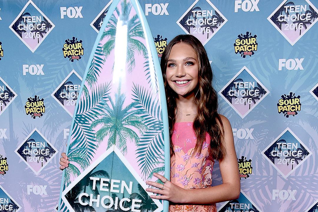 Maddie Ziegler Teen Choice Awards 2016