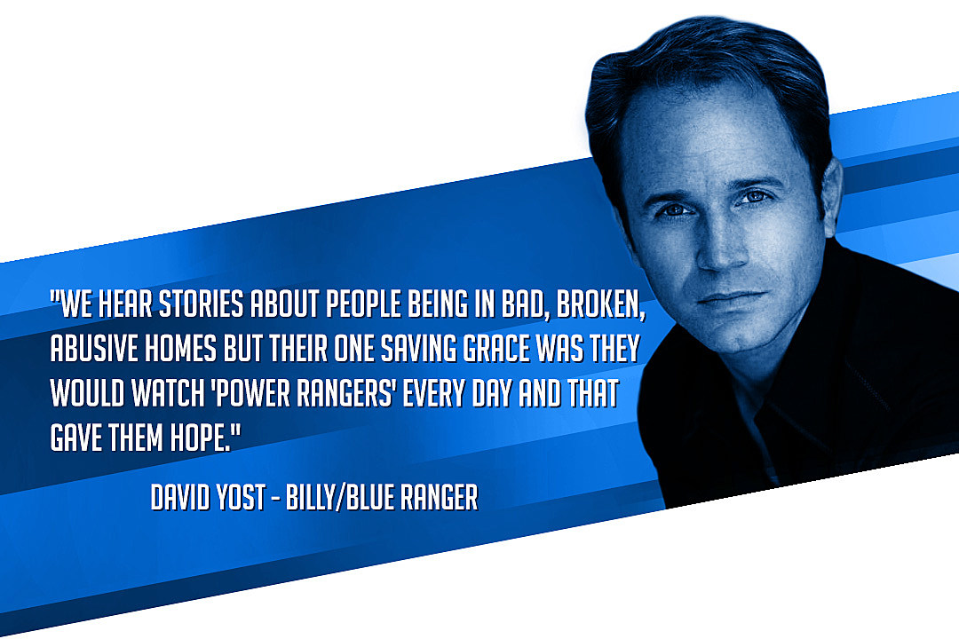 David Yost Power Rangers Blue Ranger