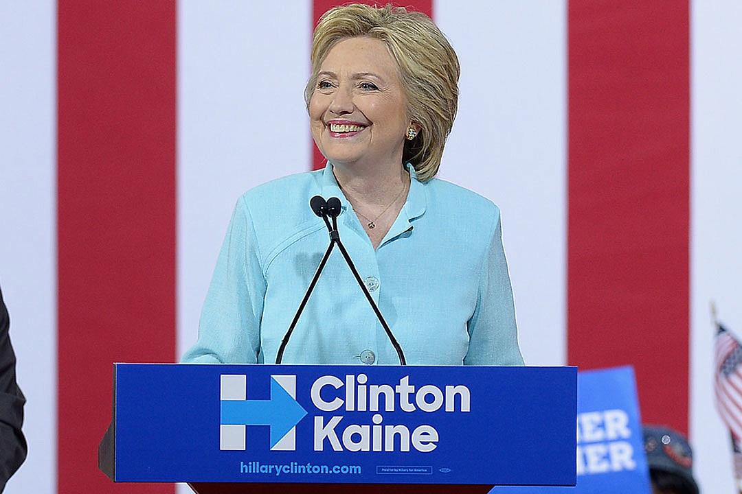 Hillary Clinton dnc nomination celebs react