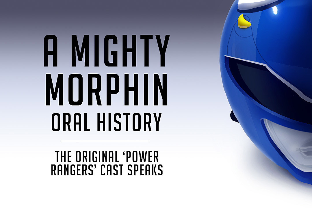 A Mighty Morphin Oral Story Header Power Rangers