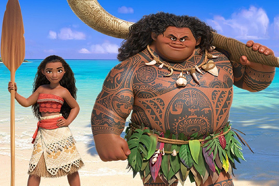 'Moana': First International Trailer Shows Baby Moana Controlling the Ocean