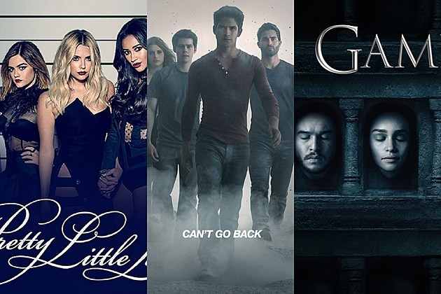 TV Shows Poll 2016 'Pretty Little Liars' 'Teen Wolf' 'Game of Thrones'