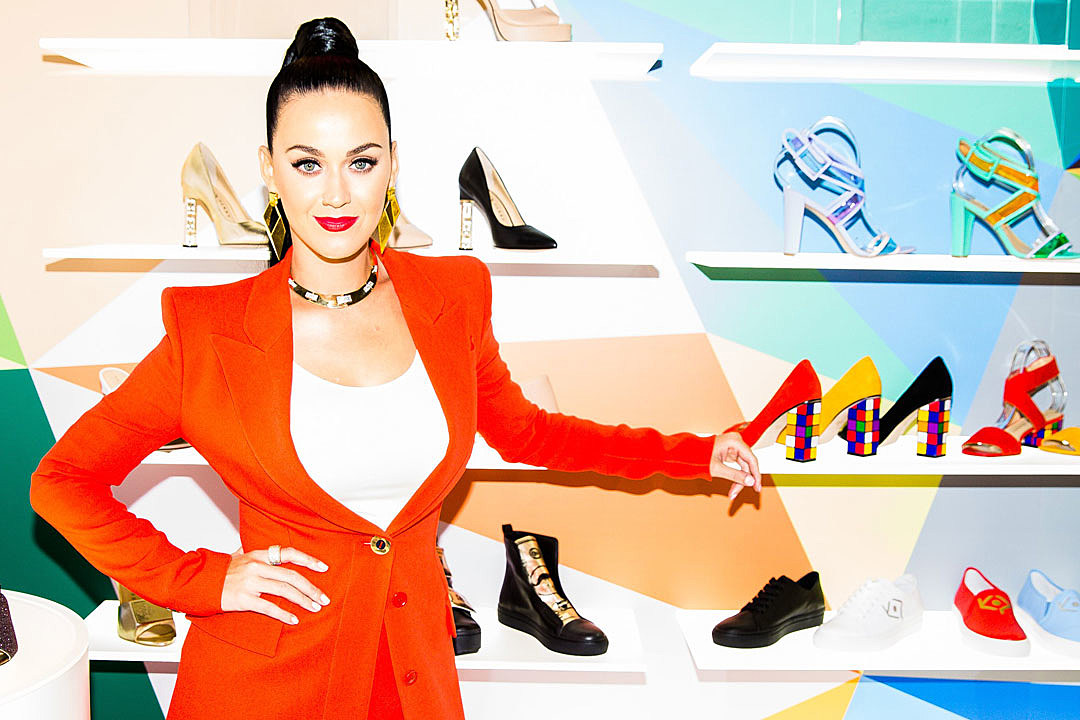 Katy Perry To Release Debut Shoe Collection