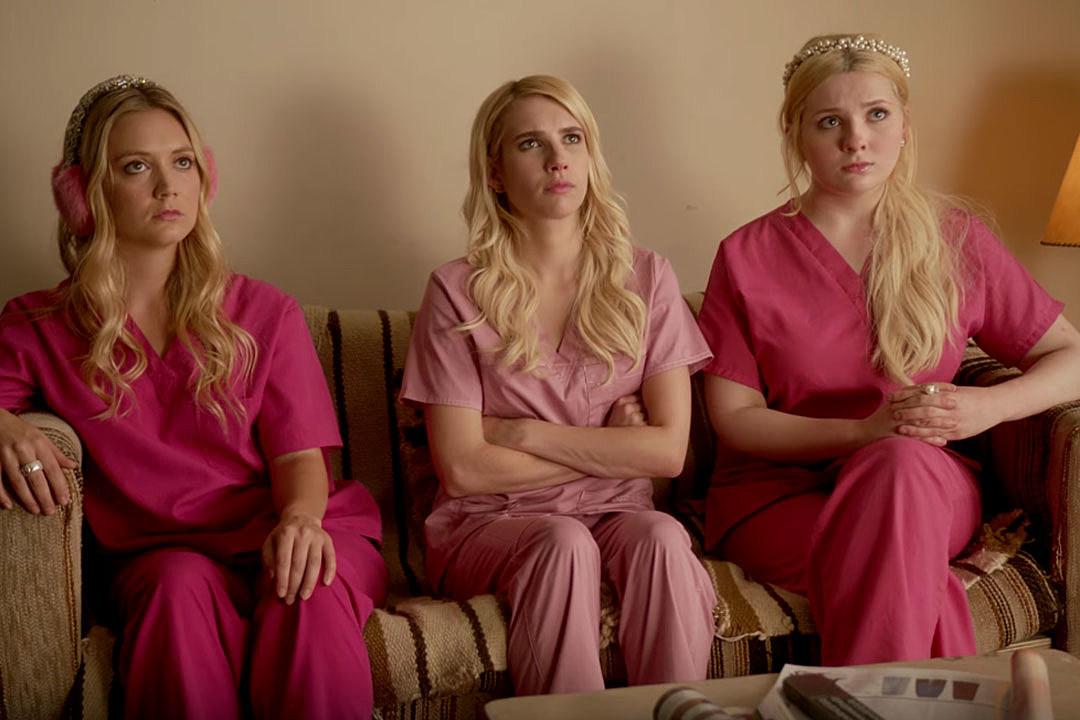 'Scream Queens': Emma Roberts, John Stamos get close in new promo