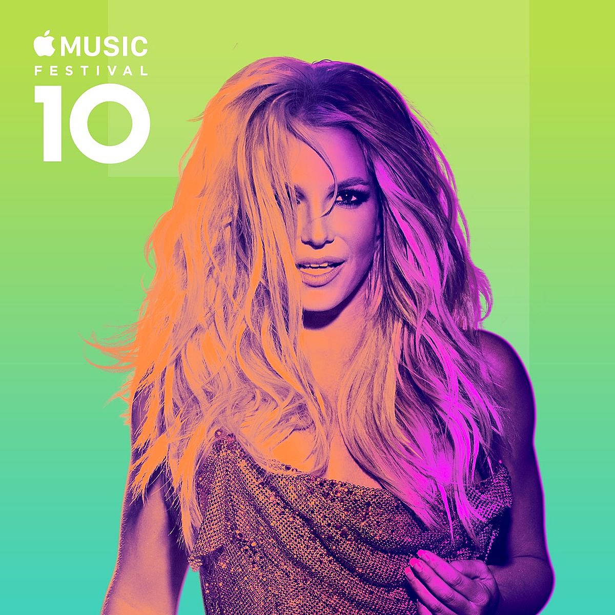 Britney Spears Performs at Apple Music Festival