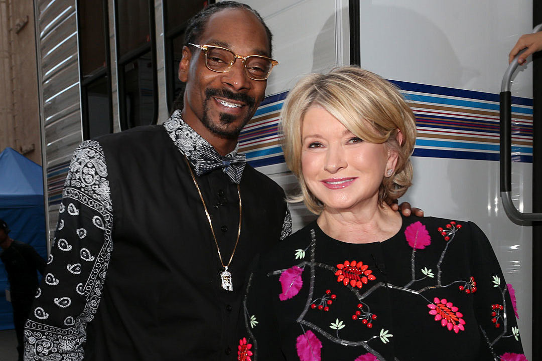 Snoop Dogg Martha Stewart cooking show