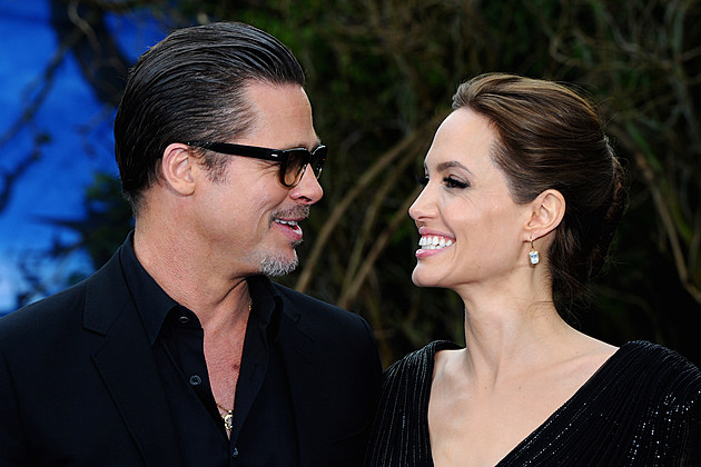 "Brad Pitt Angelina Jolie Divorce TMZ 2016 France Six Kids ""Maleficent"" Costume And Props Private Reception - Red Carpet Arrivals"