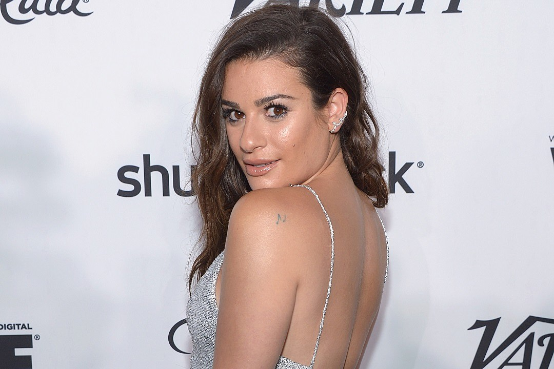 Lea Michele Variety And Women In Film's Pre-Emmy Celebration