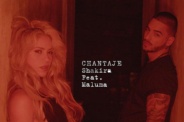 Shakira Returns With 'Chantaje (Feat. Maluma)': Listen Shakira