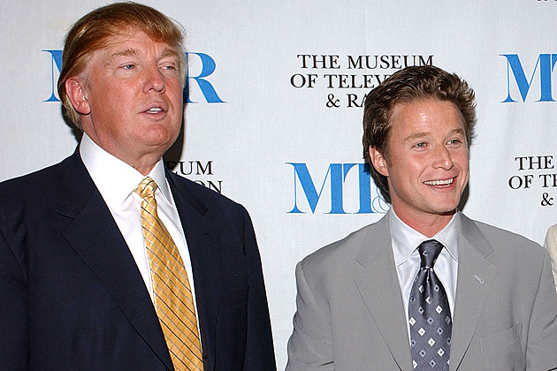 Billy Bush and Donald Trump together