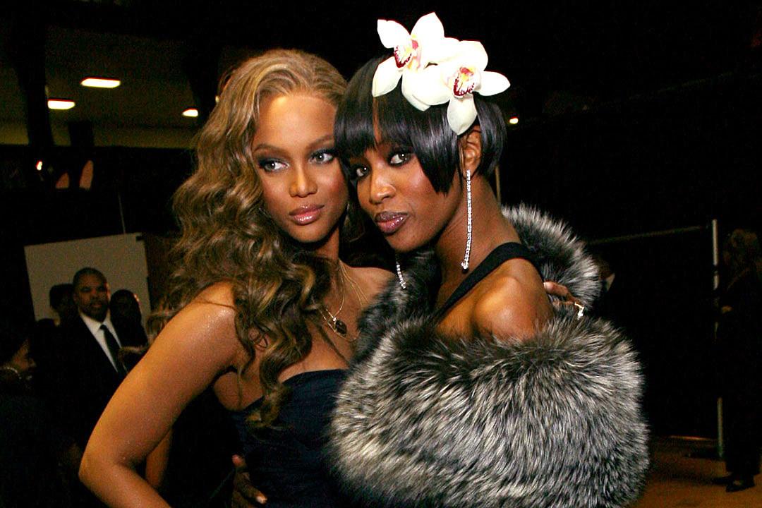 Tyra Banks Naomi Campbell feud
