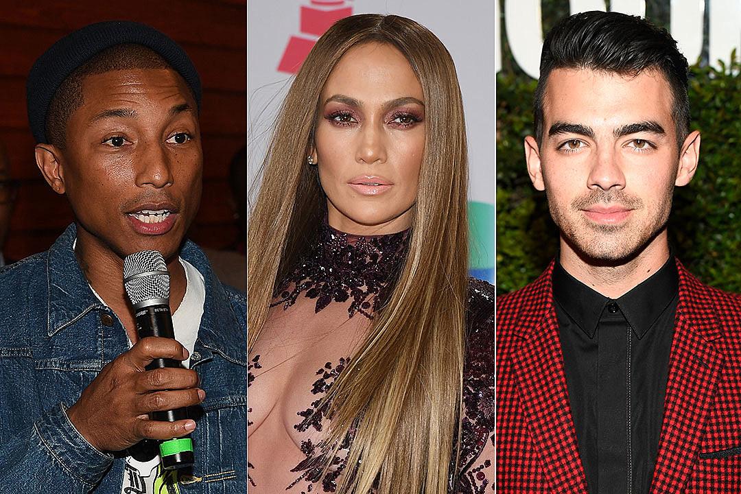 Pharrell / Jennifer Lopez / Joe Jonas