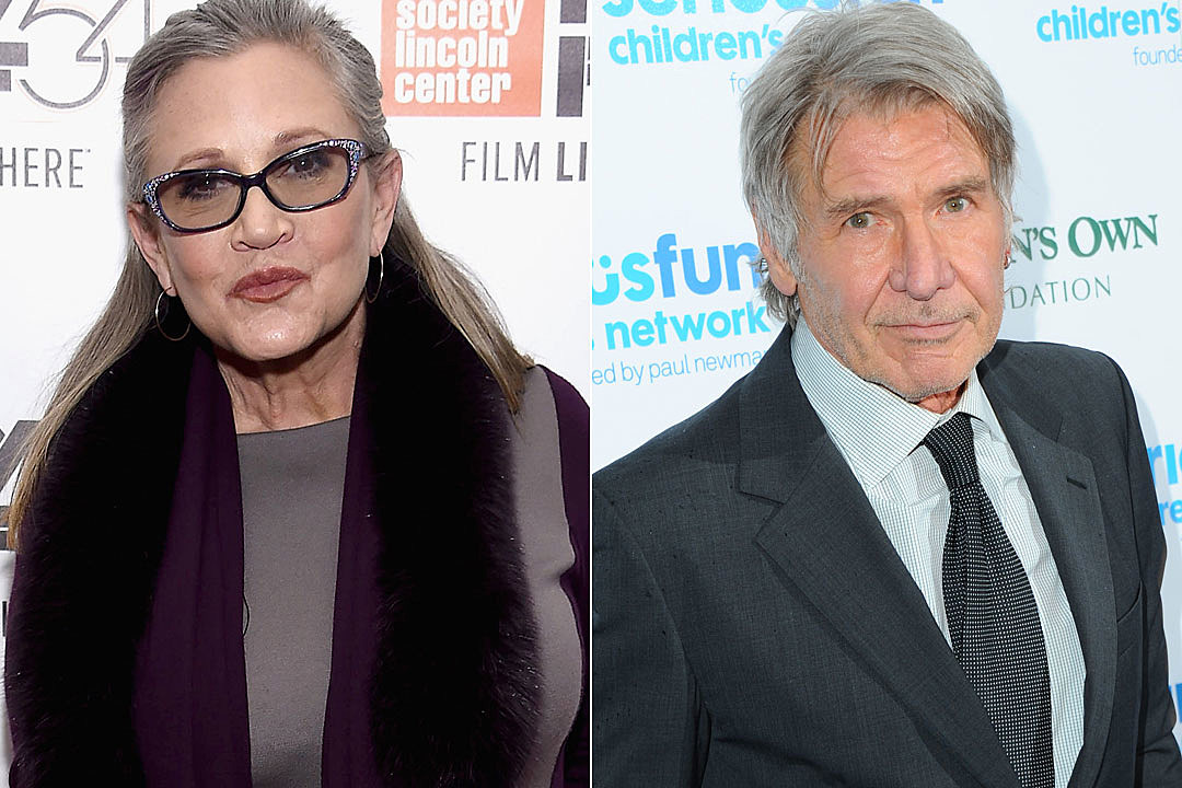 Carrie Fisher: I slept with Harrison Ford