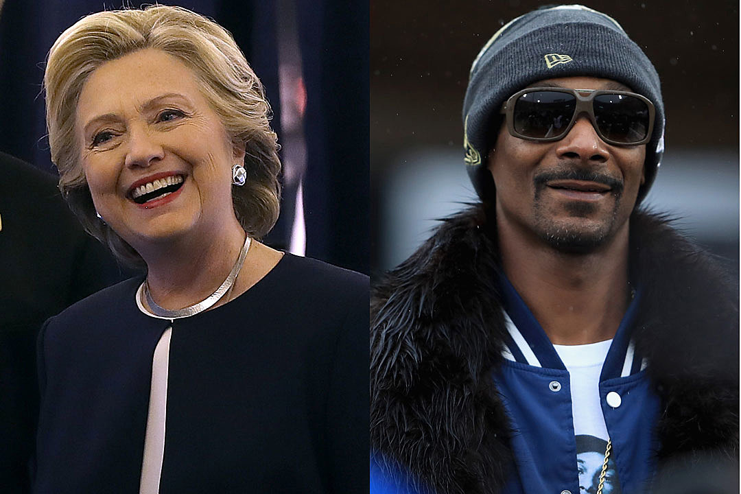 Hillary Clinton Snoop Dogg twitter