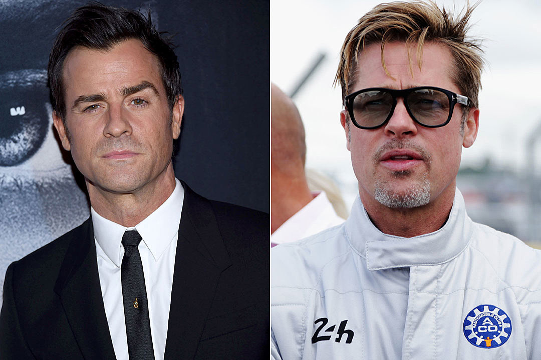 Justin Theroux Clarifies Shady Brad Pitt Instagram Post брэд питт инстаграм