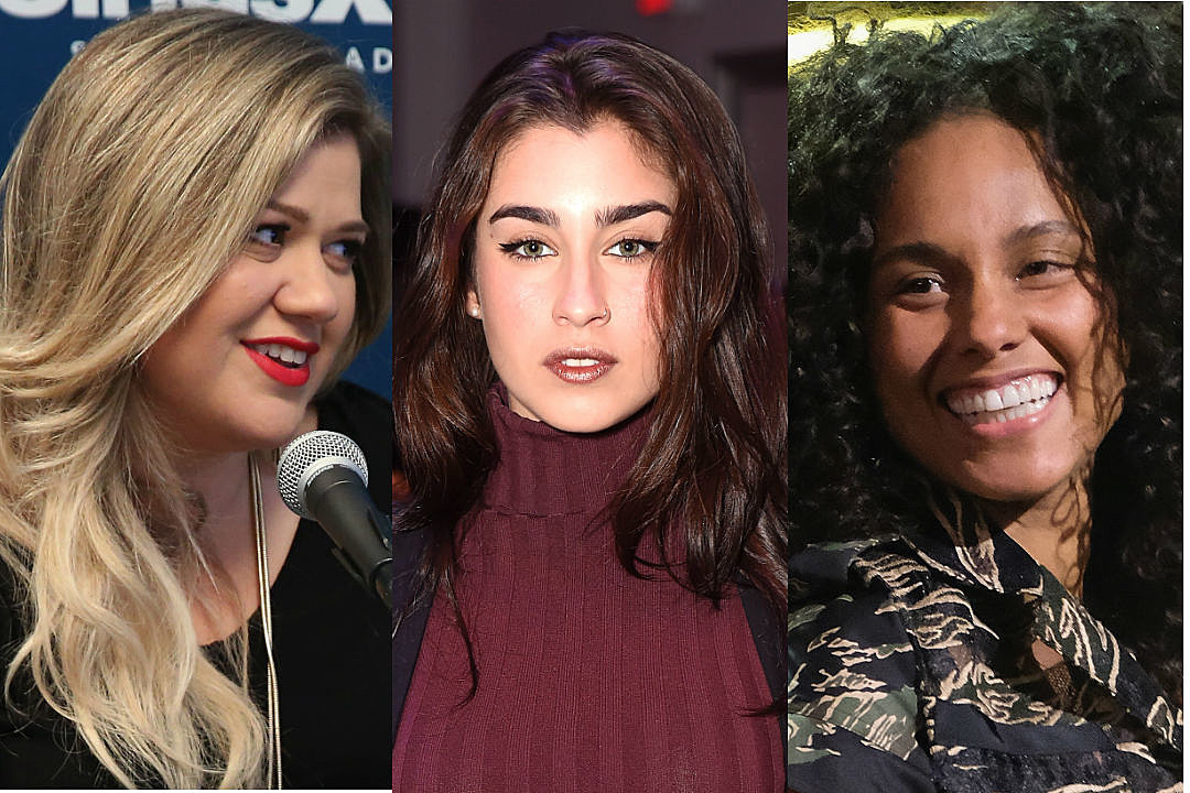 Kelly Clarkson Lauren Jauregui Alicia Keys Election Day
