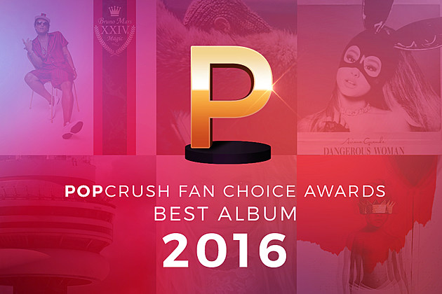 PopCrush Fan Choice Awards Best Album 2016