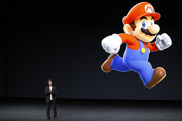 iPhone 7 Super Mario Apple Holds Press Event To Introduce New iPhone