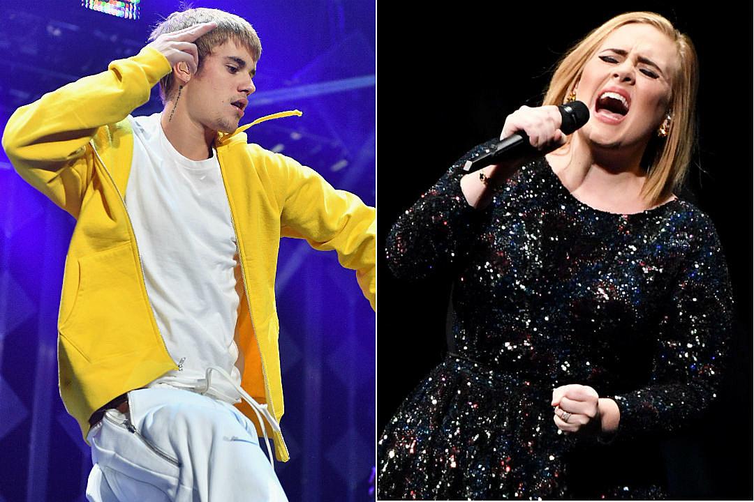 Adele Justin Bieber Billboard Biggest Artist
