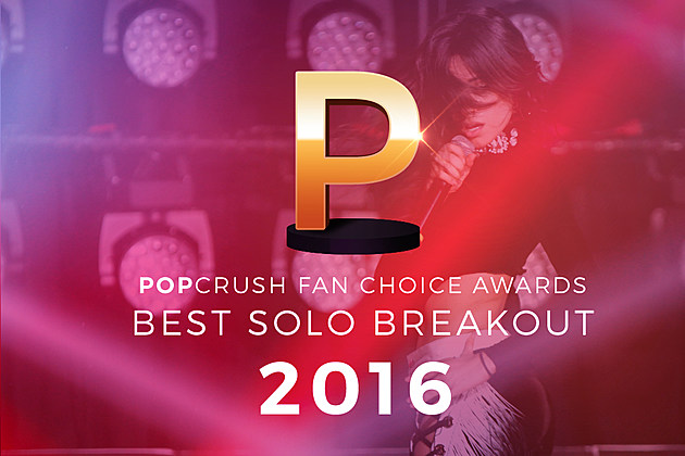 Best Solo Breakout of 2016 PopCrush Fan Choice Awards