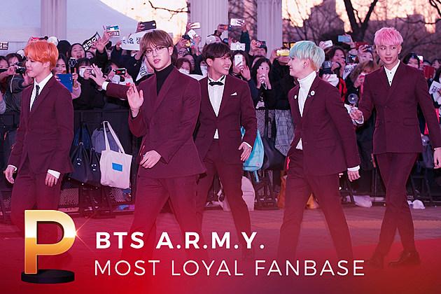 BTS A.R.M.Y. Most Loyal Fanbase 2016