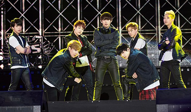 BTS Perform at the K-Pop EXPO in September 2014