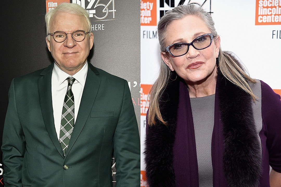 Steve Martin Gets Heat Over His Carrie Fisher Comments