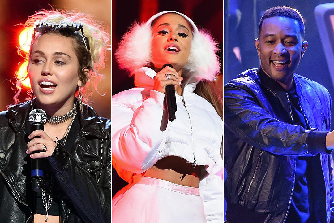 Miley Cyrus / Ariana Grande / John Legend