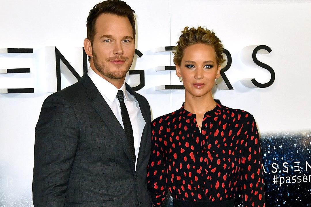 Chris Pratt Jennifer Lawrence sex scene passengers