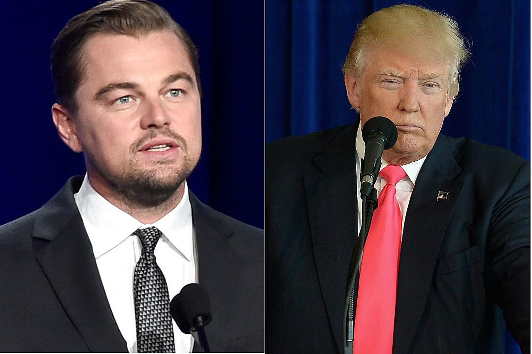 Leonardo Dicaprio Donald Trump Environment