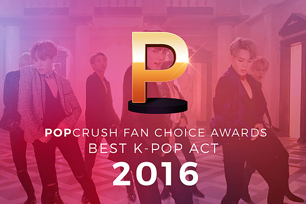 K-Pop Best Act 2016 Fan Choice Awards