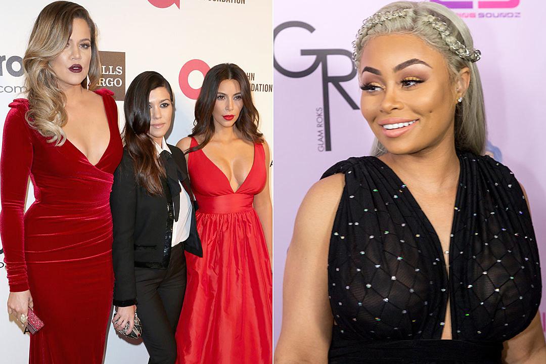 Khloe Kourtney Kim Kardashian Blac Chyna