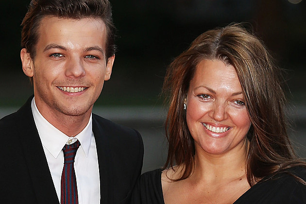 Louis Tomlinson and Mother Johannah Deakin Believe In Magic Cinderella Ball - Red Carpet Arrivals