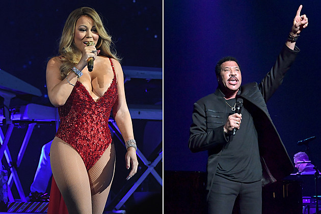 Image result for lionel richie mariah carey tour