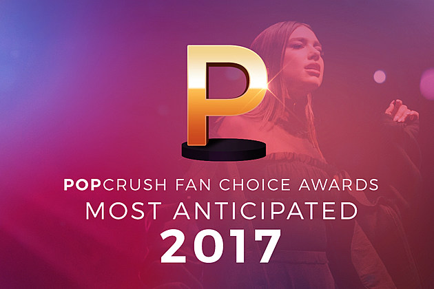 Most Anticipated Albums of 2017 Fan Choice Awards