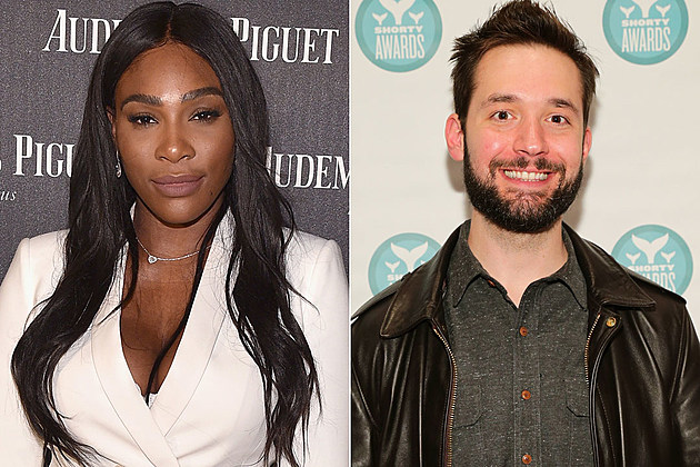 Serena Williams Alexis Ohanion engaged