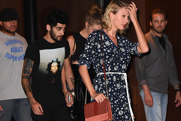 TAYLOR SWIFT ZAYN MALIK Celebrity Sightings in New York City - September 12, 2016