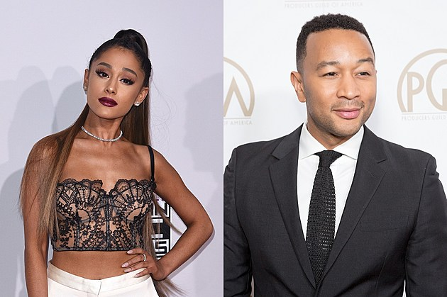 Ariana Grande and John Legend