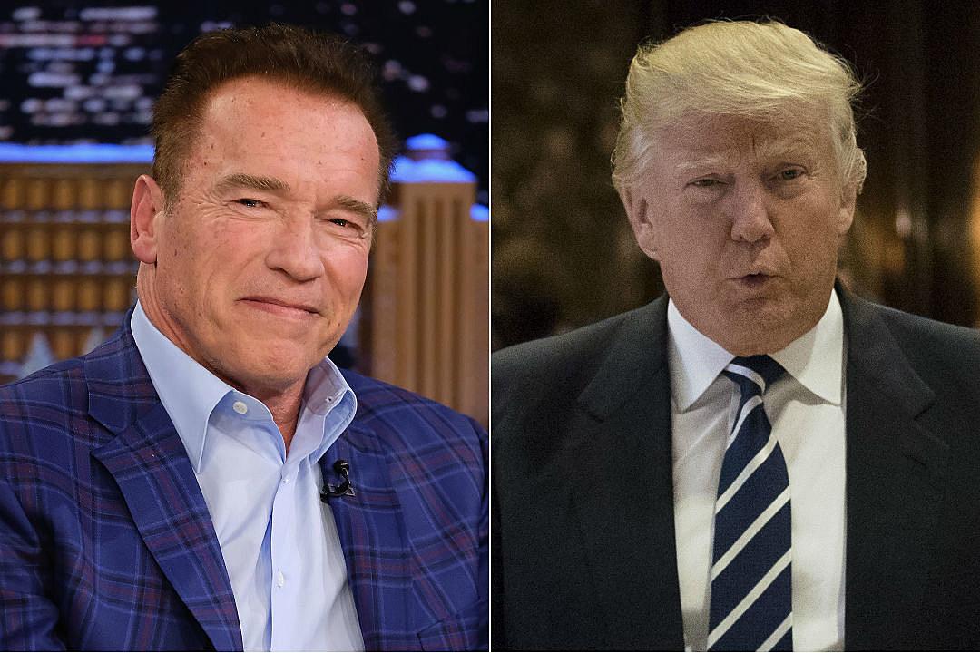 Arnold Schwarzenegger Donald Trump Celebrity Apprentice