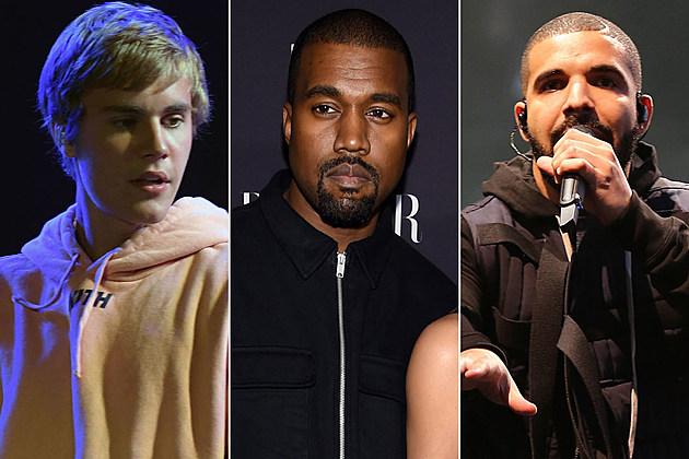 Justin Bieber Kanye West Drake grammys boycott