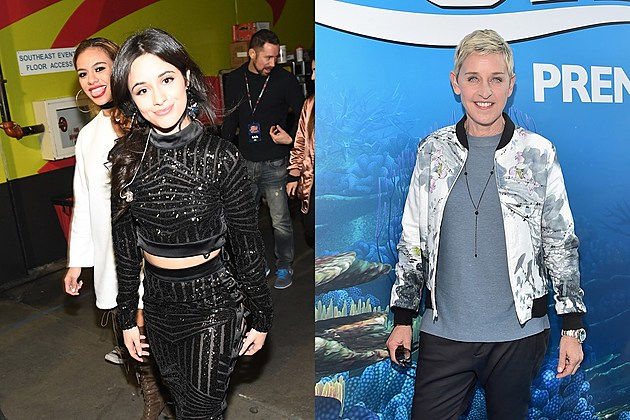 Camila Cabello and Ellen DeGeneres