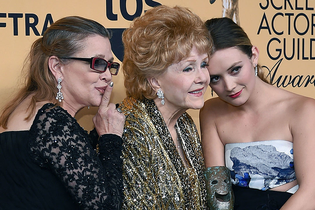 Carrie Fisher / Debbie Reynolds / Billie Lourd