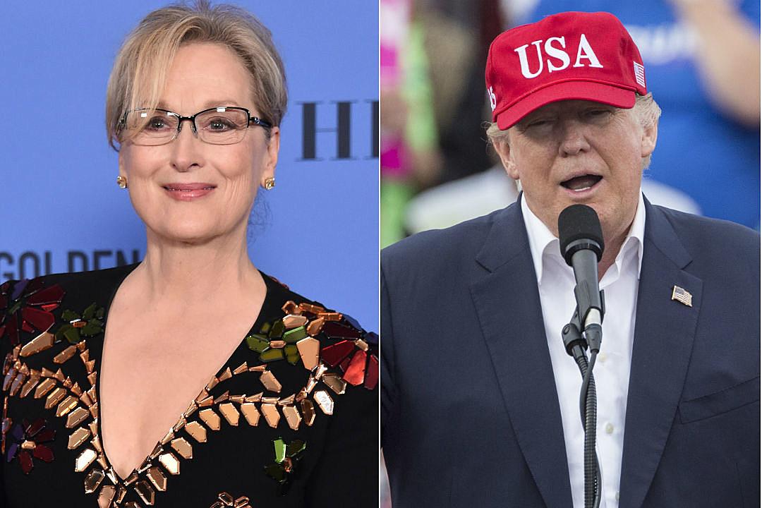 Meryl Streep Donald Trump Golden Globes